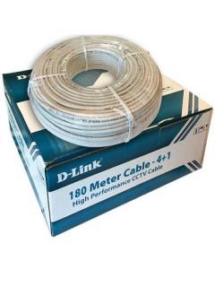 D-link  cctv 180mitre cable