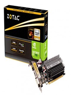 GRAPHIC CARD 4GB ZOTAC- GT730